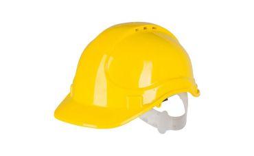 Veiligheidshelm (geel)