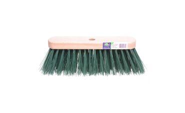 Eurotool Bezem met kunstvezelfs (groen)
