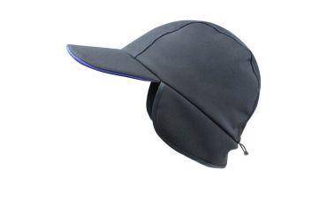 Softshell cap met oorwarmer (zwart)