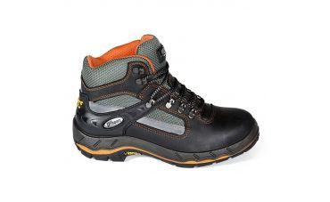 Grisport Hoge Werkschoenen (zwart/oranje)