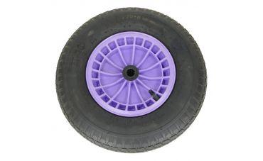 Kruiwagenwiel 4,80/4,00x8 (4ply) zonder as (Lavendel)