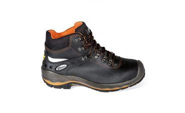 Grisport Hoge Werkschoenen met Kr.neus (zwart/oranje)