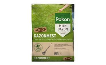 Pokon Bio Gazonmest 75m2, 5kg