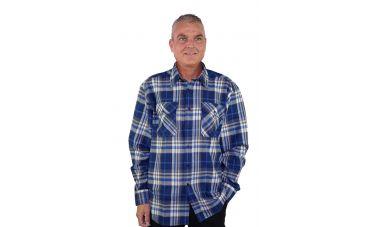 Storvik Dawson Blouse (donkerblauw)