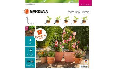Gardena MDS Uitbreidingsset bloempotten