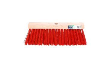 Eurotool Bezem van kunstvezels (rood)