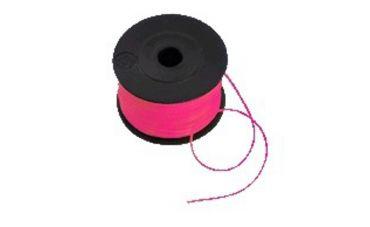 Metseldraad nylon 1mm / 50m (roze)