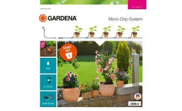 Gardena MDS Startset S voor bloembakken