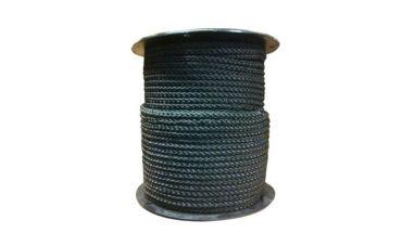 Nylon touw 100m (zwart)