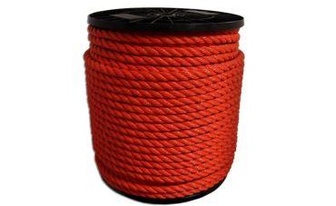 Polyethyleen touw 200m (oranje)