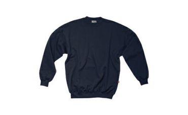 Santino Sweater met ronde hals (marine)