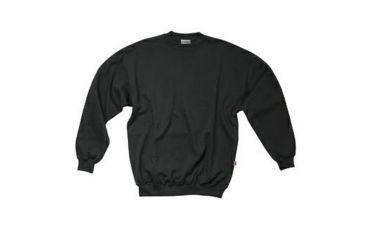 Santino Sweater met ronde hals (zwart)