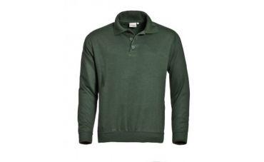 Santino Sweater met polokraag (groen)
