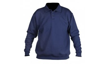 Santino Sweater met polokraag (marineblauw)