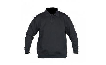 Santino Sweater met polokraag (zwart)