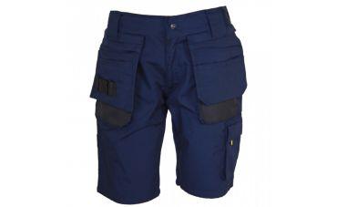Storvik Job Bermuda broek (Marineblauw)