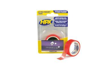 HPX Dubbelzijdig bevestigingstape transparant (19mm / 1,5m)