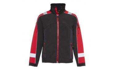 Storvik Glenn Softshell werkjas (zwart/rood)