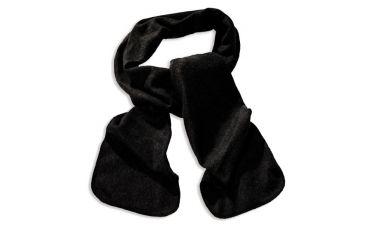Fleeceshawl (zwart)