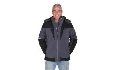 Storvik Lank Softshell jas (antra/zwart)
