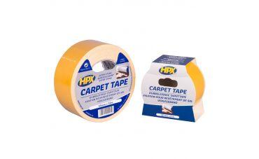 HPX Dubbelzijdig tapijttape 50mm (Wit)
