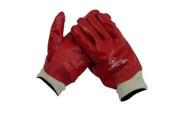 PVC handschoen met tricotboord