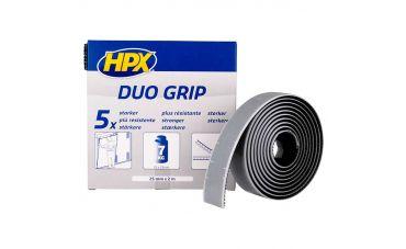HPX Duo grip klikband 25mm x 2m (zwart)