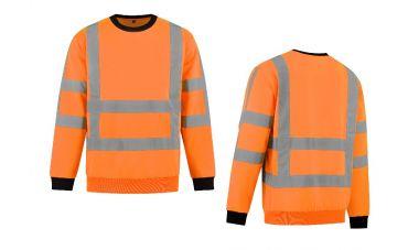 MM Veiligheidssweater (FluoOranje)