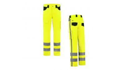 MM Veiligheids-werkbroek (FluoGeel)