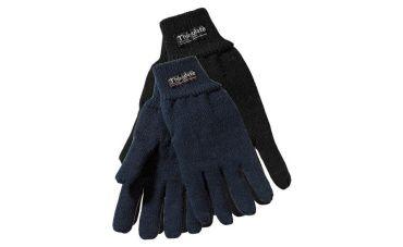 Handschoenen Gebreid (marineblauw)