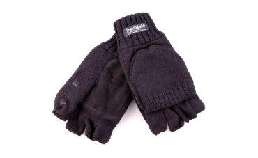 Handschoen mof/flap (zwart)