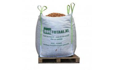 Houtpellets Bruin | Big Bag 1m³ | DIN+