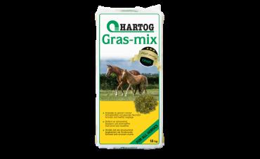Hartog Gras-mix - Gedroogd Gras met Structuurbrok