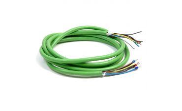 Kabel groen 8-aderig