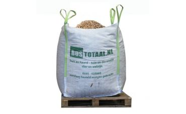 Houtpellets Wit | Big Bag 1m³ | DIN+ EN+/A1