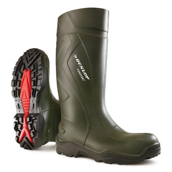 Dunlop Purofort+ Laars met Stalen neus/zool