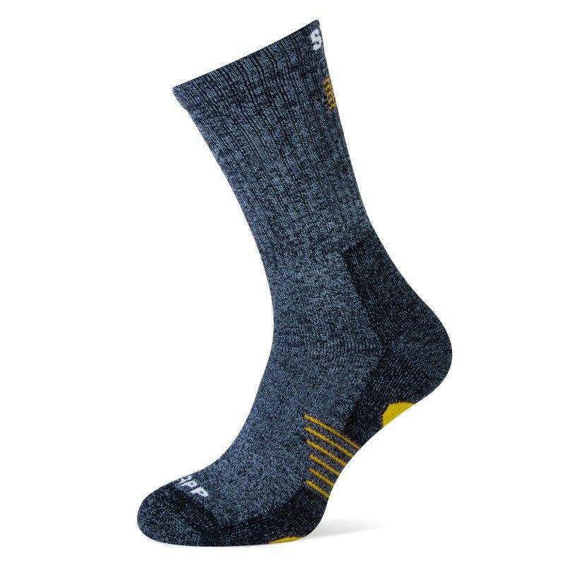 Stapp Bamboo Sokken (grijs/geel)