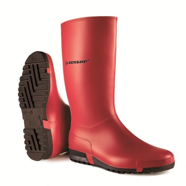 Dunlop Sportlaars (rood)