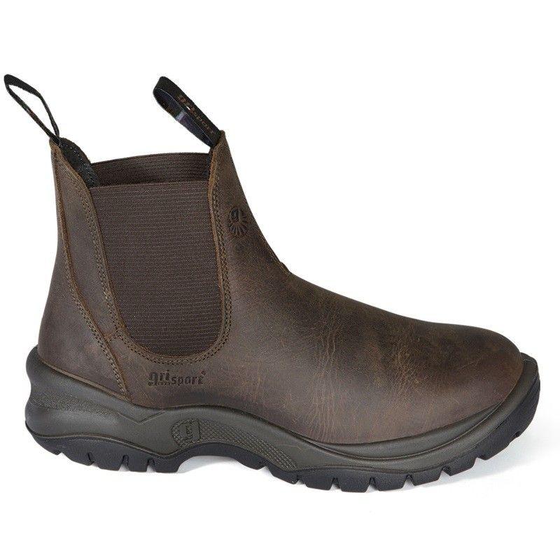 Grisport Instap-Werkschoenen (bruin)
