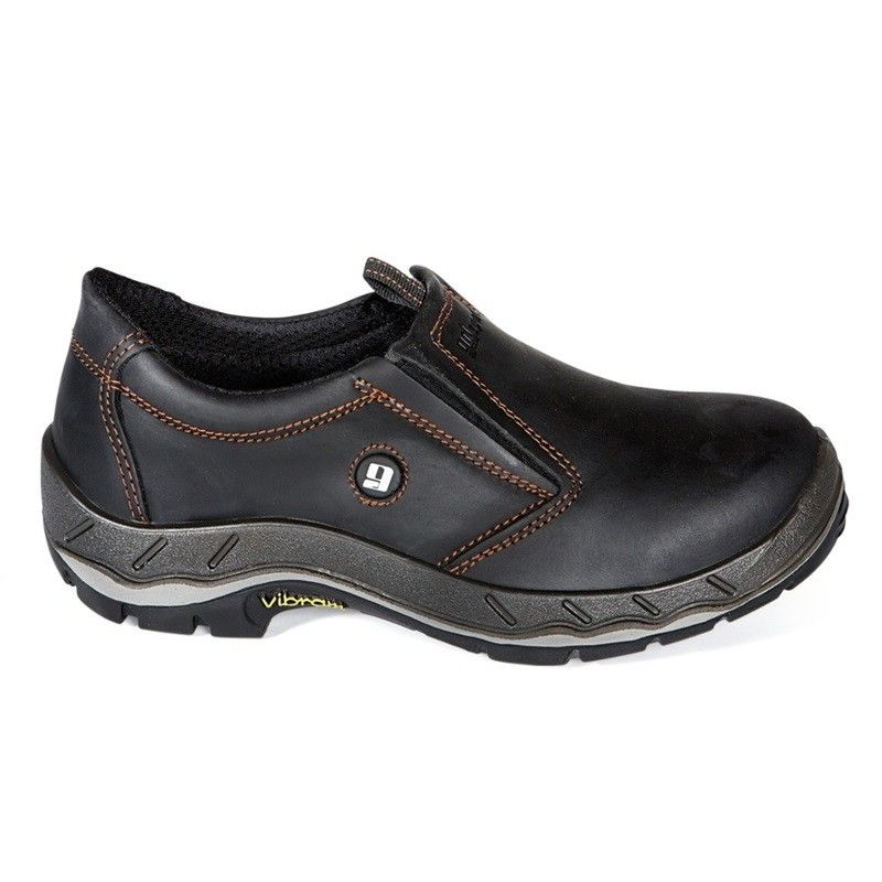 Grisport Lage Instap-Werkschoenen (zwart)