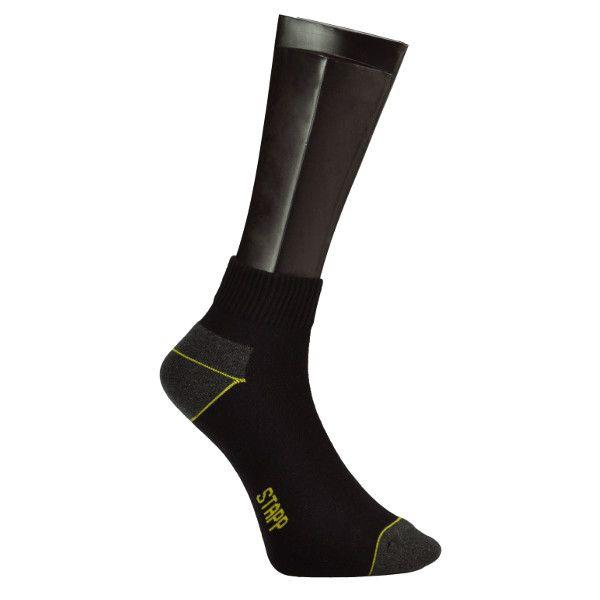 Stapp Quarter Coolmax Sokken (zwart)(2 paar)