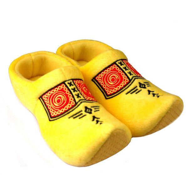 Klomppantoffel (geel)
