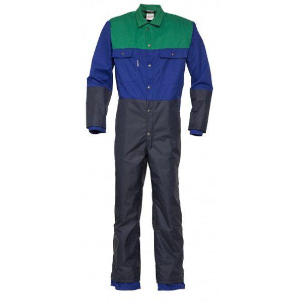 Havep Melkersoverall Poly/katoen (blauw/groen)