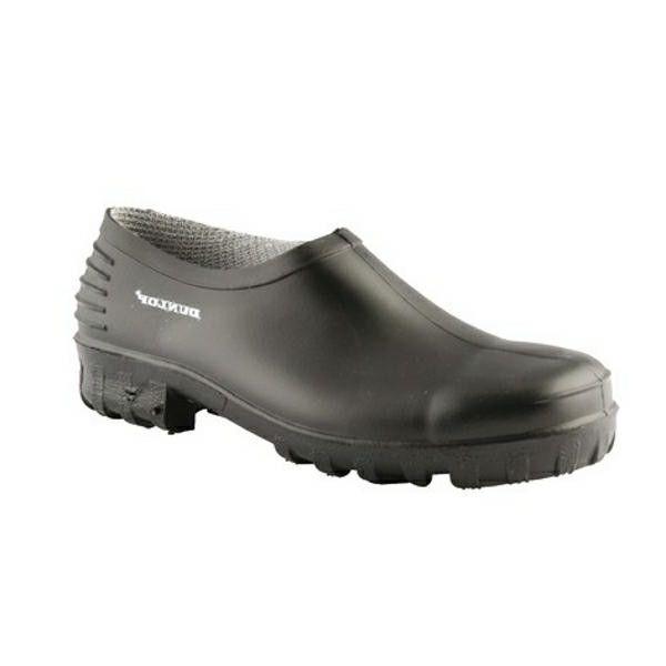 Dunlop Plastic Klomp (Zwart)