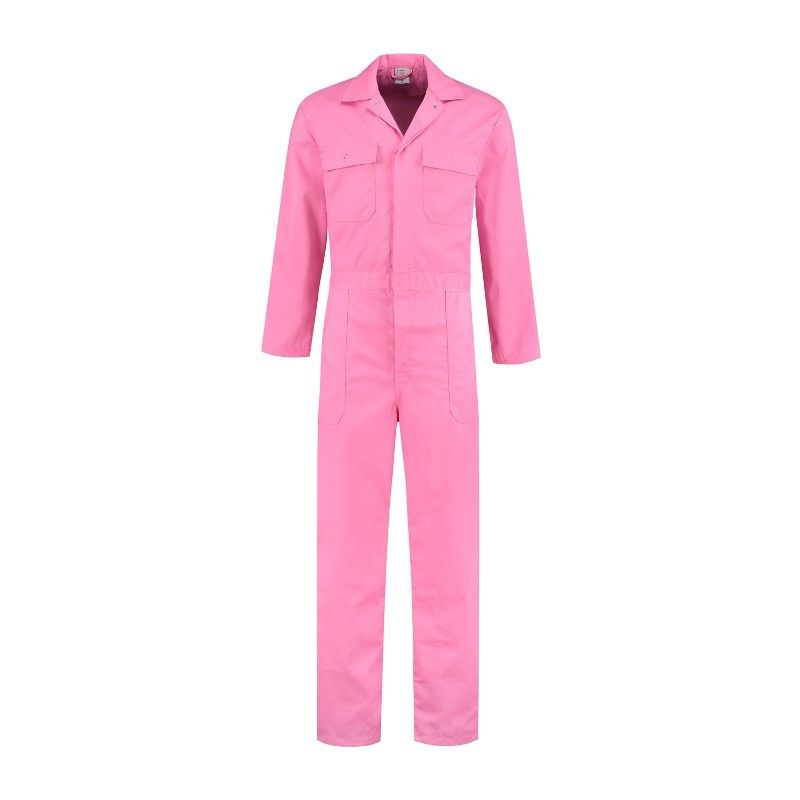 Import Overall Poly/katoen (roze)