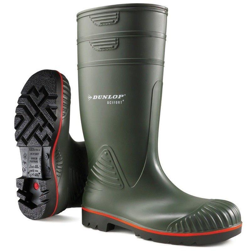 Dunlop Acifort Heavy Duty Knielaars met Stalen Neus en Zool