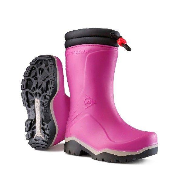 Dunlop Kids Blizzard Winterlaars (roze)