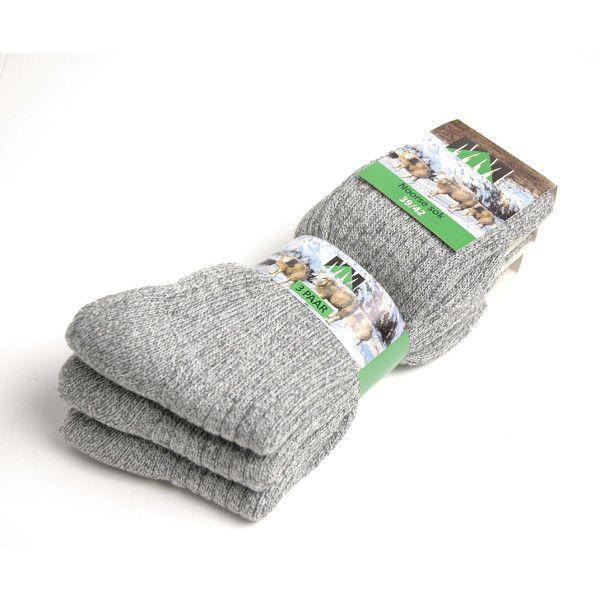 MM Wear Sokken (grijs)(3st.)