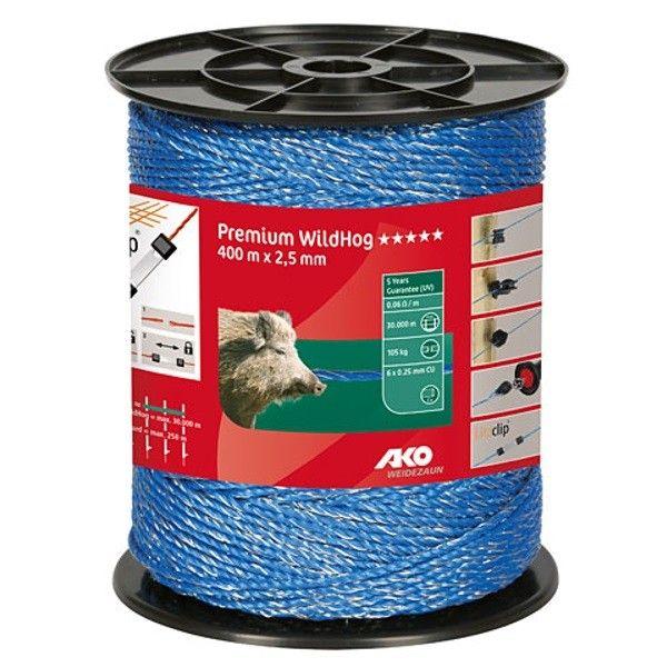 AKO Premium WildHog schrikdraad blauw